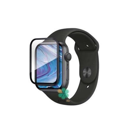 خرید محافظ صفحه گلس ساعت اپل واچ Apple Watch 44mm مدل دور ژله ای