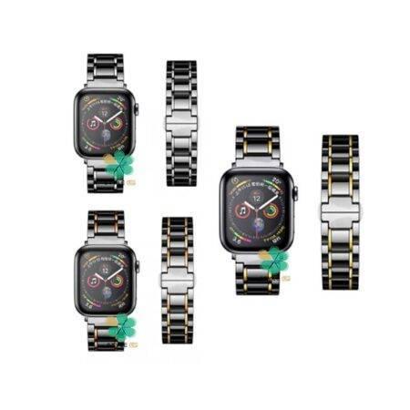 بند ساعت اپل واچ Apple Watch 38/40mm مدل Tiny Ceramics