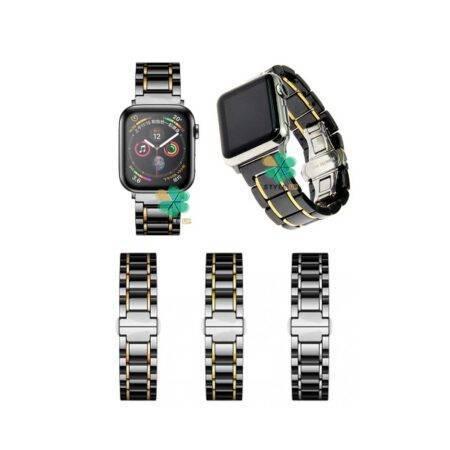 خرید بند ساعت اپل واچ Apple Watch 42/44mm مدل Tiny Ceramics