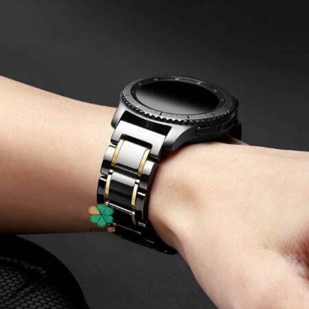 خرید بند ساعت سامسونگ Samsung Gear S3 مدل Tiny Ceramics