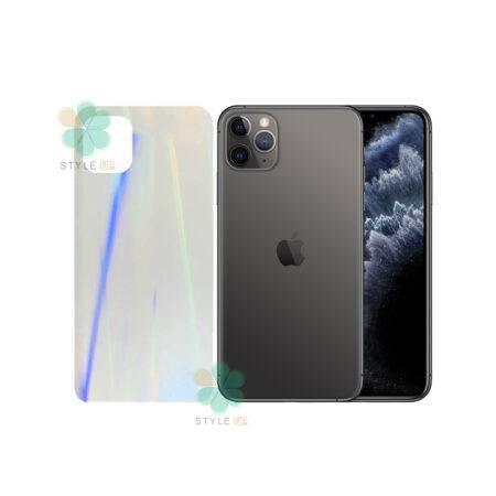 خرید برچسب نانو پشت گوشی آیفون iPhone 11 Pro مدل رنگین کمان