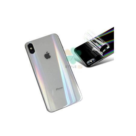 خرید برچسب نانو پشت گوشی آیفون iPhone XS Max مدل رنگین کمان