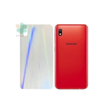 خرید برچسب نانو پشت گوشی سامسونگ Galaxy A10 مدل رنگین کمان