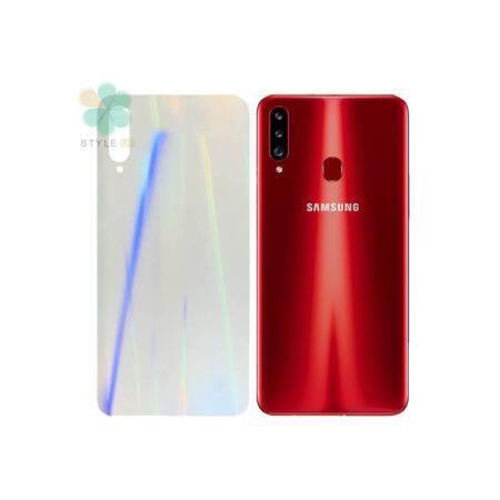 خرید برچسب نانو پشت گوشی سامسونگ Galaxy A20s مدل رنگین کمان