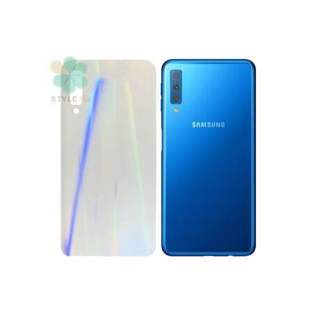 خرید برچسب نانو پشت گوشی سامسونگ Galaxy A7 2018 مدل رنگین کمان