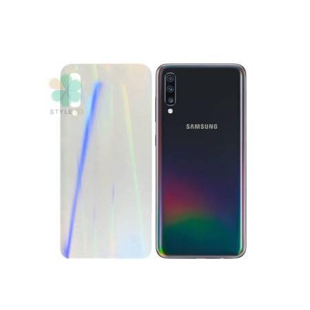 خرید برچسب نانو پشت گوشی سامسونگ Galaxy A70 مدل رنگین کمان