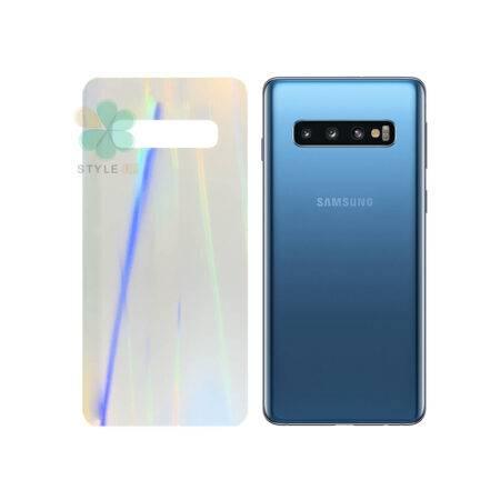 خرید برچسب نانو پشت گوشی سامسونگ Galaxy S10 مدل رنگین کمان