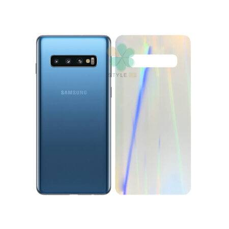 خرید برچسب نانو پشت گوشی سامسونگ Galaxy S10 Plus مدل رنگین کمان