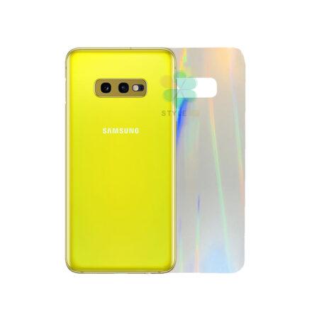 خرید برچسب نانو پشت گوشی سامسونگ Galaxy S10e مدل رنگین کمان