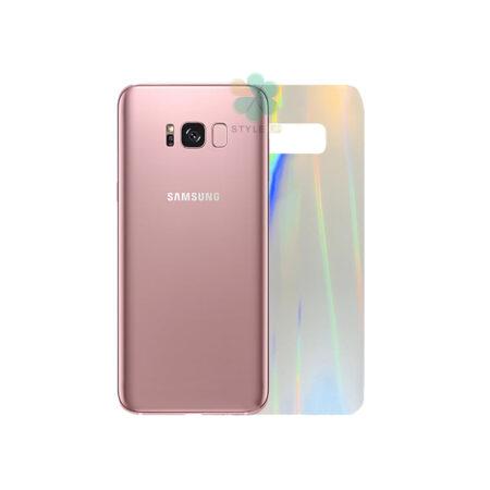 خرید برچسب نانو پشت گوشی سامسونگ Galaxy S8 Plus مدل رنگین کمان