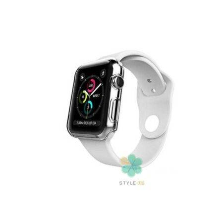 خرید کاور محافظ صفحه ساعت اپل واچ Apple Watch 40mm مدل شفاف