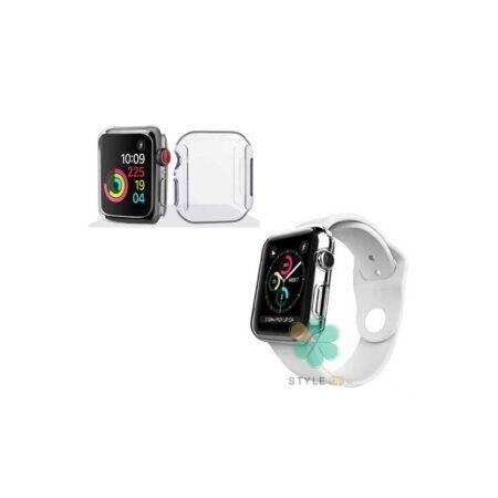 خرید کاور محافظ صفحه ساعت اپل واچ Apple Watch 44mm مدل شفاف