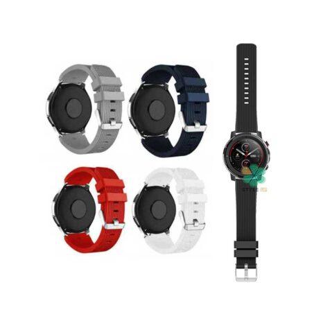 خرید بند سیلیکونی ساعت شیائومی Xiaomi Amazfit Stratos 3 طرح گلکسی