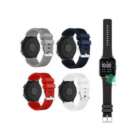 خرید بند سیلیکونی ساعت شیائومی Xiaomi Haylou LS02 طرح گلکسی