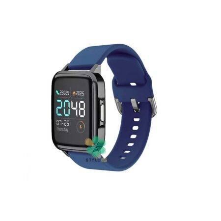 عکس بند ساعت شیائومی Xiaomi Haylou LS02 مدل سیلیکونی نرم