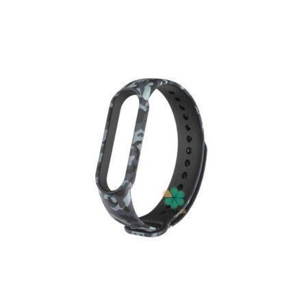 خرید بند مچ بند شیائومی می بند 5 - Mi Band 5 مدل سیلیکونی چریکی