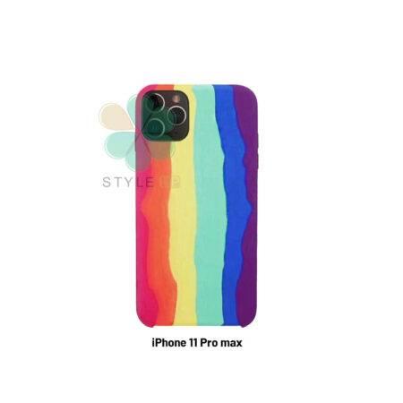 خرید ست قاب آیفون، بند اپل واچ و کاور ایرپاد استایل رنگین کمان