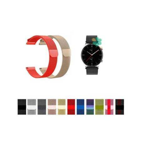 خرید بند استیل ساعت شیائومی Xiaomi Amazfit GTR 2 مدل New Milanese