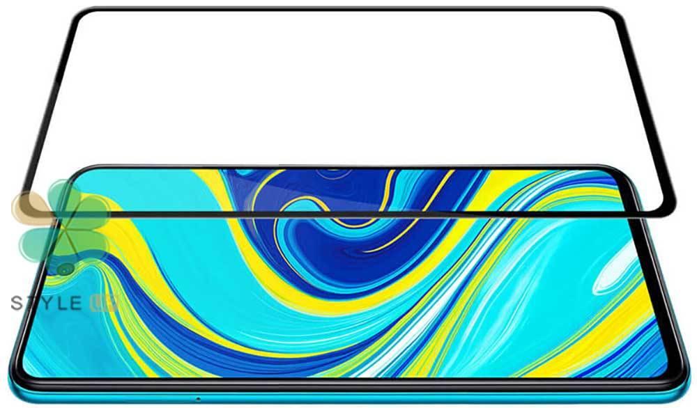 عکس گلس محافظ نیلکین گوشی شیائومی Redmi Note 9s / 9 Pro مدل Xd Cp+ Max