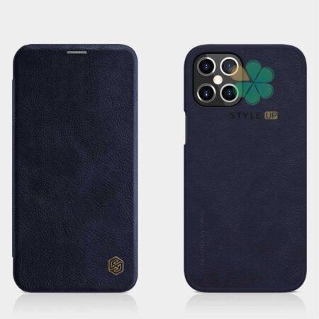 خرید کیف چرمی نیلکین گوشی اپل Apple iPhone 12 Pro Max مدل Qin