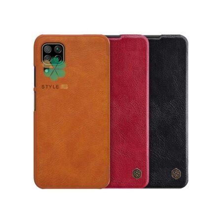 خرید کیف چرمی نیلکین گوشی هواوی Huawei Nova 7i مدل Qin