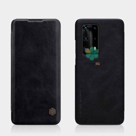 عکس کیف چرمی نیلکین گوشی هواوی Huawei P40 Pro Plus مدل Qin