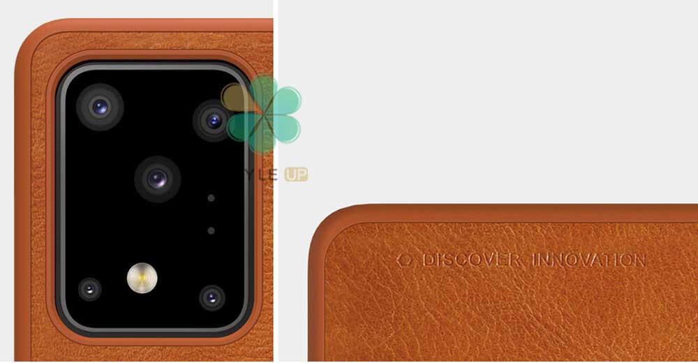 خرید کیف چرمی نیلکین گوشی سامسونگ Galaxy S20 Ultra 5G مدل Qin