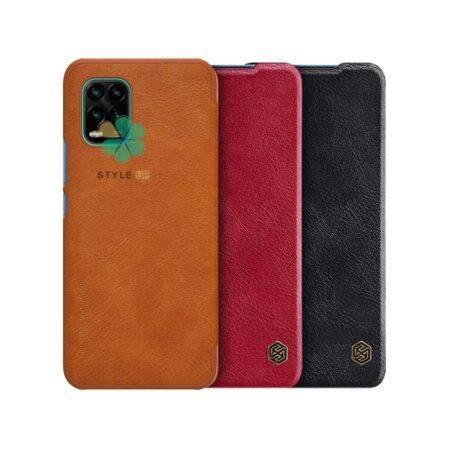 خرید کیف چرمی نیلکین گوشی شیائومی Xiaomi Mi 10 Youth 5G مدل Qin