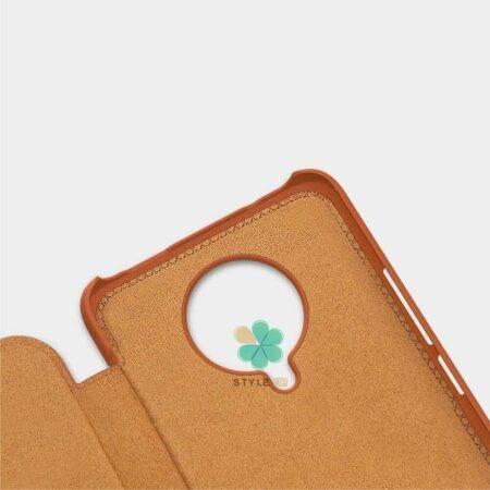 عکس کیف چرمی نیلکین گوشی شیائومی Xiaomi Poco F2 Pro مدل Qin