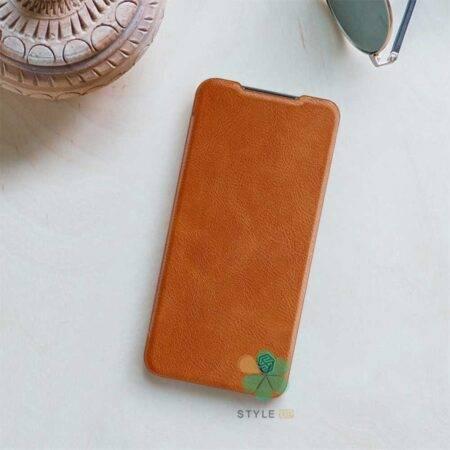 عکس کیف چرمی نیلکین گوشی شیائومی Xiaomi Redmi 10x 4G مدل Qin