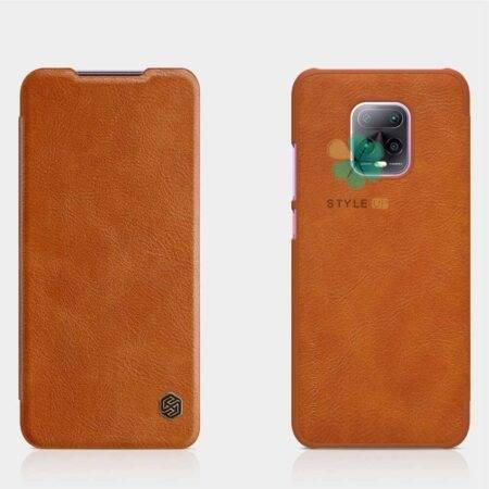 خرید کیف چرمی نیلکین گوشی شیائومی Xiaomi Redmi 10x 5G مدل Qin