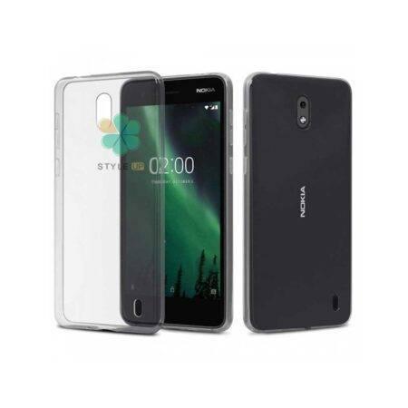 خرید قاب گوشی نوکیا Nokia 2 مدل ژله ای شفاف