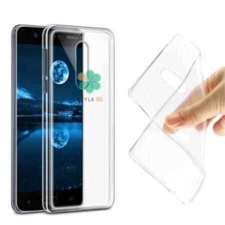 خرید قاب گوشی نوکیا Nokia 5 مدل ژله ای شفاف