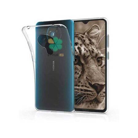 خرید قاب گوشی نوکیا 5.3 - Nokia 5.3 مدل ژله ای شفاف