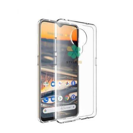 تصویر قاب گوشی نوکیا 5.3 - Nokia 5.3 مدل ژله ای شفاف