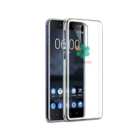 خرید قاب گوشی نوکیا Nokia 8 مدل ژله ای شفاف