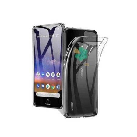 خرید قاب گوشی نوکیا Nokia C1 مدل ژله ای شفاف