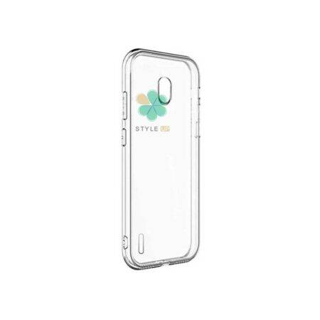 تصویر قاب گوشی نوکیا Nokia C1 مدل ژله ای شفاف