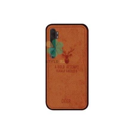 خرید قاب گوشی شیائومی Xiaomi Mi Note 10 Pro پارچه ای طرح گوزن