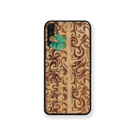 خرید قاب گوشی سامسونگ Samsung Galaxy A70 طرح چوب Bomboo