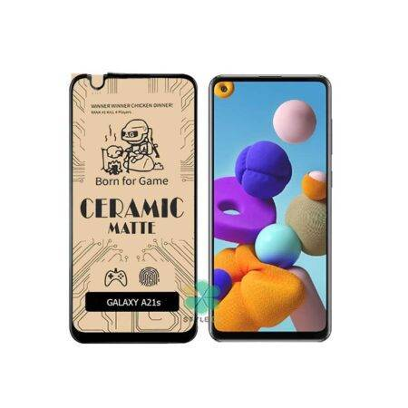 خرید گلس سرامیکی مات گوشی سامسونگ Samsung Galaxy A21s