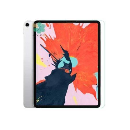 خرید محافظ صفحه گلس اپل آیپد iPad Pro 12.9 2018 مدل دور تراش