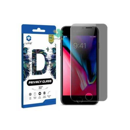 خرید گلس گوشی اپل آیفون Apple iPhone SE 2020 مدل LITO D+ Privacy