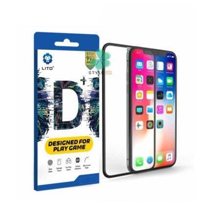 خرید گلس گوشی آیفون Apple iPhone X / XS مدل LITO D+ Play Game