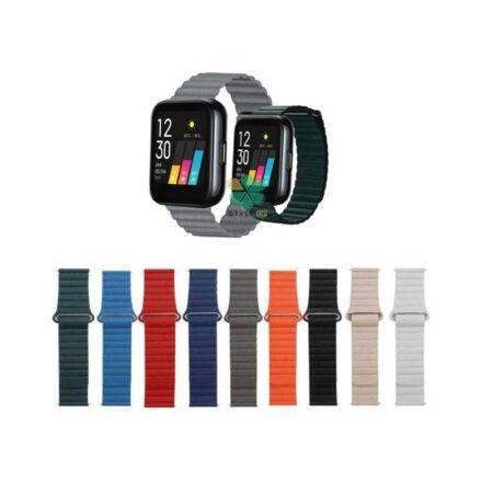 خرید بند چرمی ساعت ریلمی واچ Realme Watch مدل Leather Loop