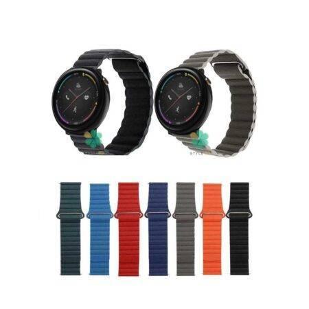 خرید بند چرمی ساعت شیائومی Xiaomi Amazfit Nexo مدل Leather Loop