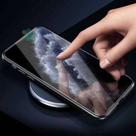 عکس محافظ 360 درجه شیشه ای مگنتی گوشی آیفون Apple iPhone 11