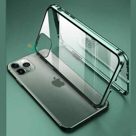 عکس محافظ 360 درجه شیشه ای مگنتی گوشی آیفون iPhone 11 Pro Max