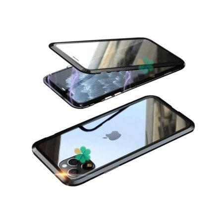 خرید محافظ 360 درجه شیشه ای مگنتی گوشی آیفون iPhone 12 Pro Max