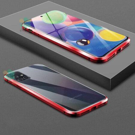عکس محافظ 360 درجه شیشه ای مگنتی گوشی سامسونگ Galaxy A71